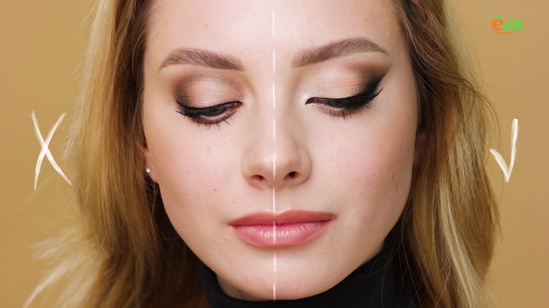 Як скоригувати форму: макіяж для опуклих очей